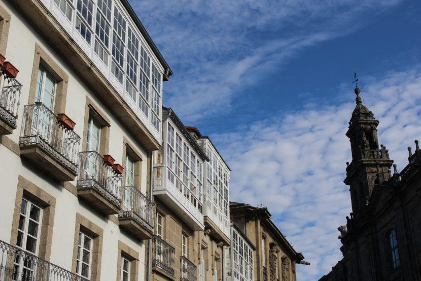 vista fachada apartamento